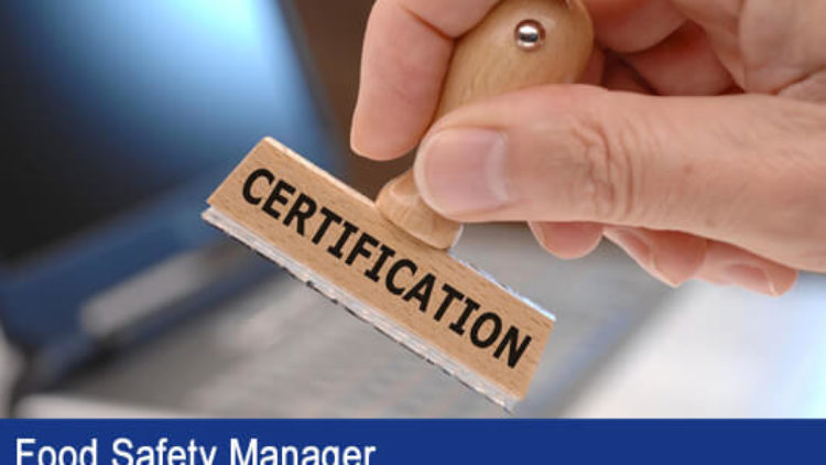 Staff's ServSafe Manager Certificate in Spanish Course & Exam