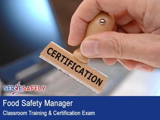 Certification Exam Serve-Safely