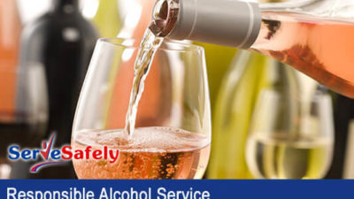 Responsible Alcohol Service Classroom Training & Cert Exam